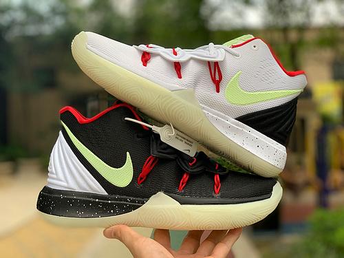 欧文5夜光鸳鸯 Nike Kyrie 5 欧文5代 WhatThe 夜光鸳鸯 AV7917-991 尺码:39-46
