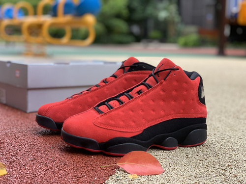 aj13反转黑红 Air Jordan 13 Reverse Bred 2021款 反转黑红 DJ5982-602