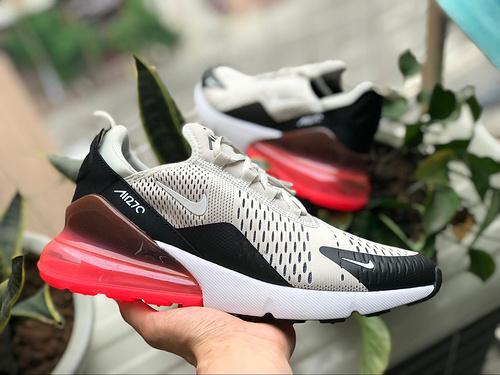 Max 270灰黑红 【纯原版】半掌气垫 Nike Air Max 270灰黑红 AH8050-003  尺码:40-44