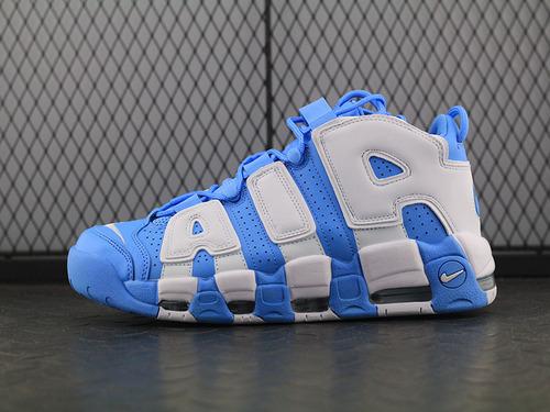 Air More Uptempo '96 QS 皮蓬大AIR蓬大AIR文化篮球鞋系列 白蓝