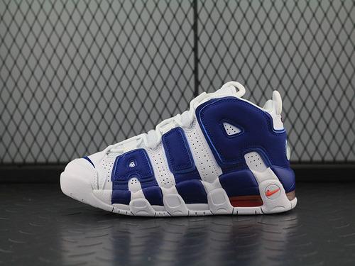 Air More Uptempo皮蓬大AIR文化篮球鞋系列 白蓝女鞋 921949-103
