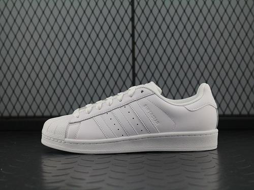 adidas阿迪达斯男女三叶草小白鞋 SUPERSTAR 贝壳头B27136
