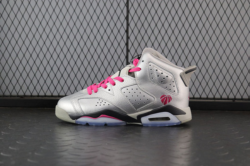 Air Jordan 6 Retro GG Valentines Day 情人节AJ6银粉篮球鞋女款