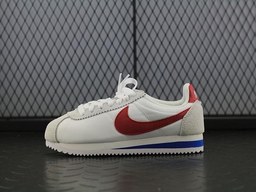 CLASSIC CORTEZ 夏季阿甘白红休闲跑步鞋882258-101女鞋
