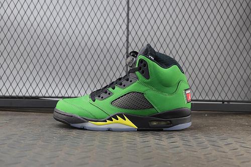 "Air Jordan 5 SE ""Oregon"" 货号:CK6631-307"