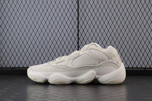 "Adidas Yeezy 500""Bone White""FV3573 阿迪椰子全新配色骨灰白休闲跑鞋"