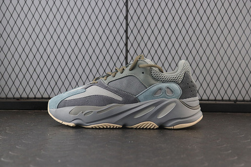 Yeezy Boost 700 Teal Blue FW2499 侃爷椰子700 3M反光 青蓝配色跑鞋