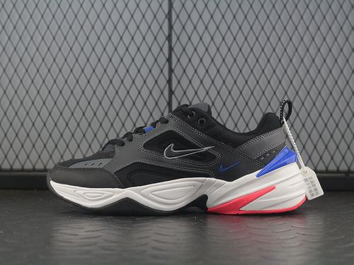 M2K Tekno 黑蓝桔配色复古运动老爹鞋 AV4789-003