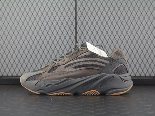 Adidas Yeezy Boost 700 Inertia EG6860 侃爷椰子700 灰棕色跑鞋 3M反光 真爆米花