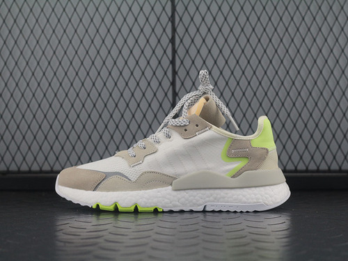 Adidas Nite Jogger 2019 Boost CG6098 灰绿夜行者复古跑鞋