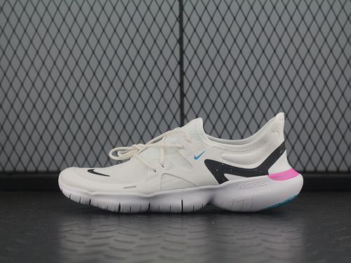 Free RN 5.0 赤足缓震中性跑步鞋 AQ1289-106