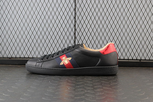 GUCI Ace Embroidered Low-Top Sneaker 拼色刺绣系列低帮潮流板鞋