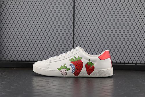 Guci 小草莓 古驰 小白鞋系列