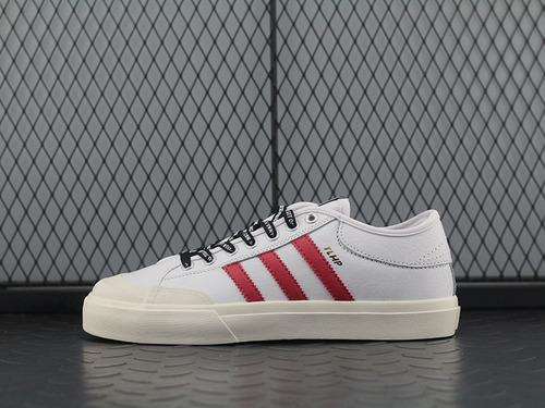 联名板鞋 白红 F37383 男女鞋