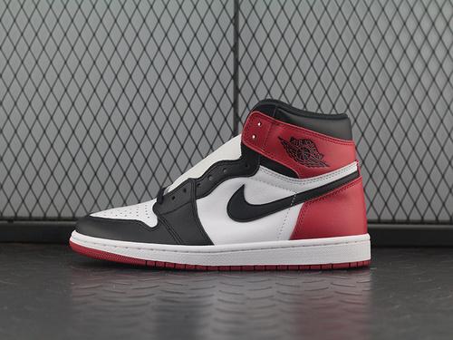 ST Air Jordan 1 Retro High OG AJ1黑脚趾高帮篮球鞋 555088-125