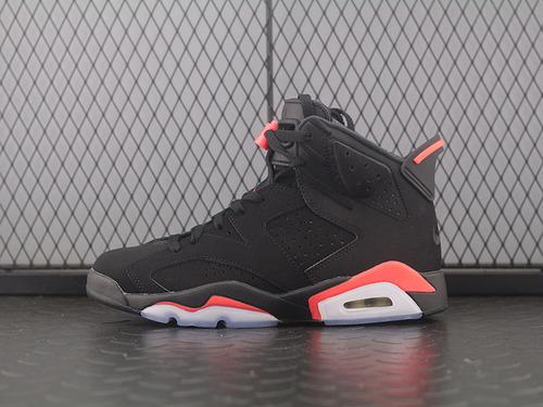 Air Jordan 6 Infrared AJ6黑红 乔6黑红外线 3M反光 篮球男鞋 384664-060