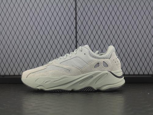 "Adidas Yeezy Boost 700""Salt""EG7487 侃爷椰子700海盐 盐雾跑鞋 3M反光 真爆米花"