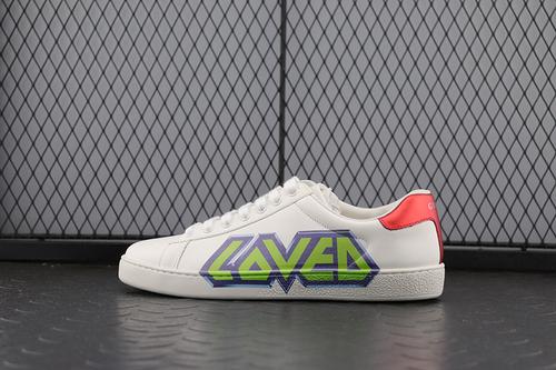Guci 字母 小白鞋系列