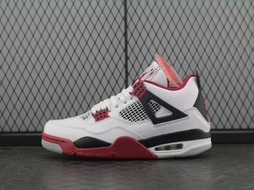 """aj4白红 Air Jordan 4 """"Fire Red"""" 白红 308497-160"""