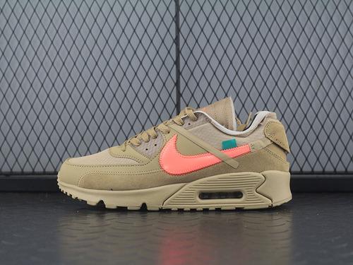 Off White x Nike Air Max 90 OW 耐克联名款经典气垫跑鞋 AA7293-200