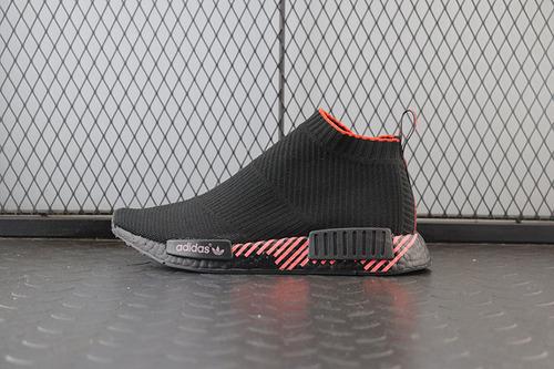 """NMD CS1 PK""""Cloud Black""""G27354 弹力针织面袜子鞋"""