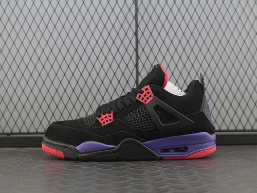 aj4猛龙 Air Jordan 4 NRG Raptors AJ4猛龙 黑紫配色 AQ381