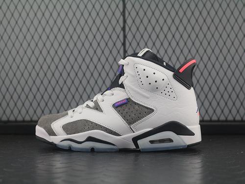 """Air Jordan 6""""FLINT""""AJ6 乔6燧石 紫外线 篮球鞋 CI3125-100"""