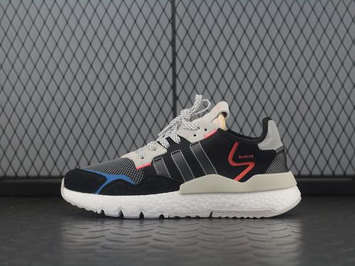Adidas Nite Jogger 2019 Boost EF8719 3M反光复古跑鞋