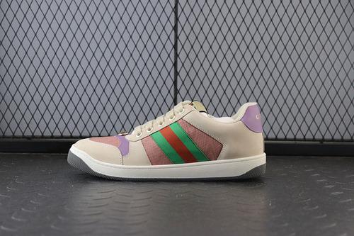 GUCI做旧款  灰绿紫 女鞋