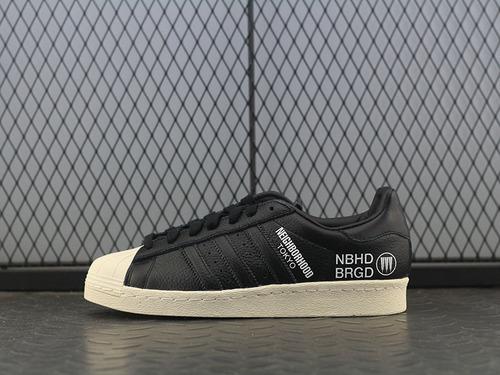 ADIDAS Superstar 贝壳头 三方联名 F34157 男女板鞋