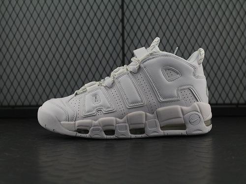 """高街风 Air More Uptempo '96 QS 皮蓬大AIR蓬大AIR文化篮球鞋系列""""太白""""921948-100"""