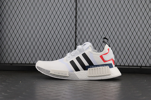 NMD_R1 Boost Originals Taping EF0753 跑步休闲鞋