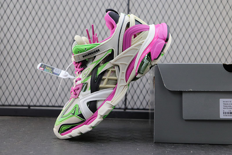 Balenciaga Track 2.0 巴黎世家4代 灰绿粉RACK 2代