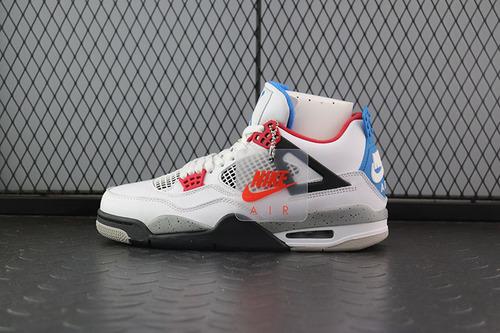 【H12】Air Jordan 4 What The AJ4 乔4鸳鸯 白水泥 CI1184-146