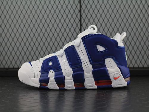 Air More Uptempo皮蓬大AIR文化篮球鞋系列 白蓝男鞋 921949-103