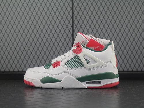 Air Jordan NRG AJ4 乔4白绿红 篮球鞋 AQ3816-163