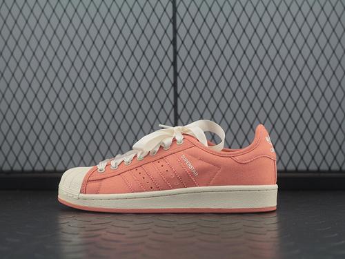 Superstar S82578 贝壳头帆布丝带休闲板鞋