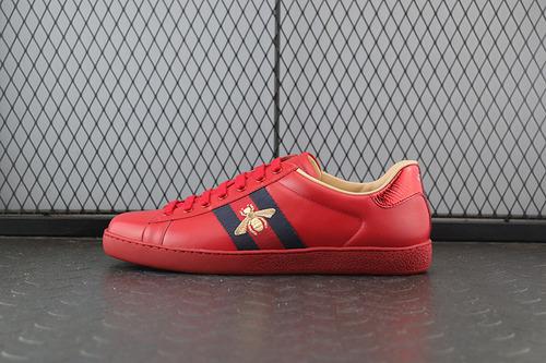 GUCI 蜜蜂  红色