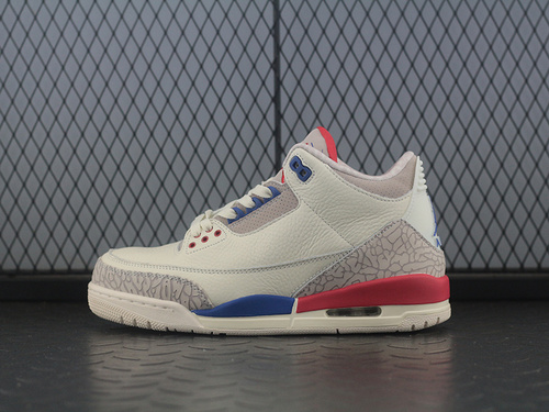 Air Jordan 3 Charity Game AJ3 乔3美国独立日男子篮球鞋 136064-140