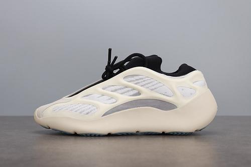 """PK BASF Adidas Yeezy 700 V3""""Azael""""FW4980 侃爷椰子700 V3 夜光跑鞋"""
