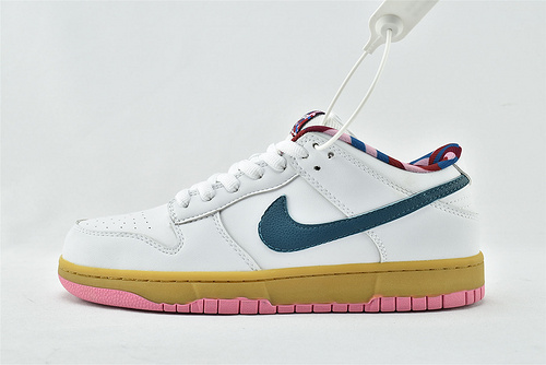 Nike Dunk SB Low 低帮滑板鞋/白绿粉  货号:CN4504-108  男鞋
