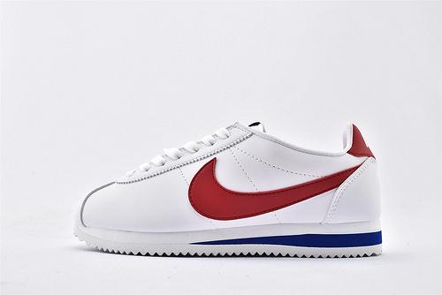 Nike Classic Cortez阿甘系列跑鞋/白红 经典 纯原版  货号:807471-103  男女鞋  情侣款