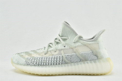 Adidas Yeezy Boost 350 V3 椰子3.0系列/ 冰蓝  货号:FC8366    男鞋