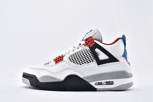 Air Jordan AJ4 乔丹4代篮球鞋/白红蓝 鸳鸯 纯头层  纯原版  货号:CI1184-146  男鞋