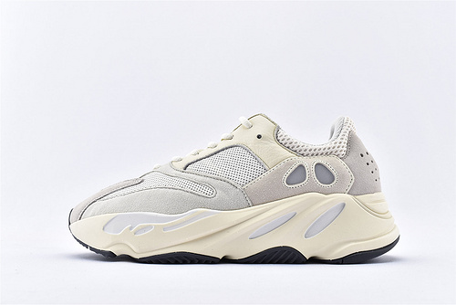 Adidas Yeezy Boost 700 Vanta 椰子700复古老爹鞋/米白 浅灰白 纯原版   货号:EG7596  男女鞋 情侣款