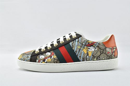 Gucci/古驰 小白鞋系列板鞋/唐老鸭 印花  版 芯片版  男女鞋  情侣款