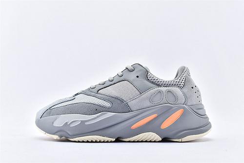 Adidas Yeezy Boost 700 Vanta 椰子700复古老爹鞋/浅灰蓝粉 3M反光版  纯原版  货号:EG7597 男女鞋 情侣款