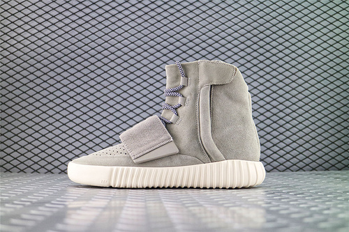 Adidas Yeezy Boost 750 Light Brown 侃爷椰子750系列/高帮浅灰白  夜光底/海外版 全网最高原装巴斯夫版本 货号:B35309  男女鞋 情侣款