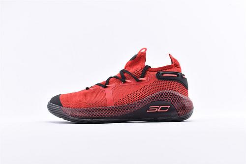 Under Armour Curry 6 安德玛库里6代篮球鞋/黑红 随意实战  货号:3020612-607  男鞋