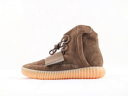 Adidas Yeezy 750 Boost Glow Dark 侃爷-高街系列/夜光版 巧克力  货号:BY2456  纯原版  男鞋